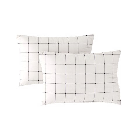 Pillow case 250 Two side grid 2