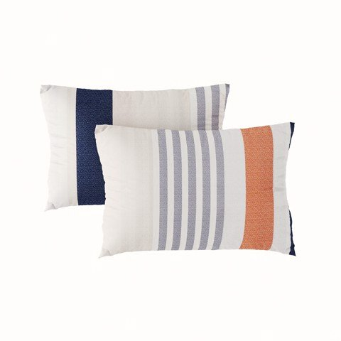 Pillow case 267 Colorful stripes