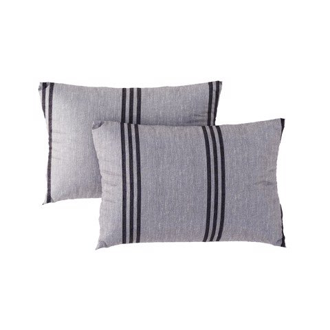 Pillow case 279 Grey striped