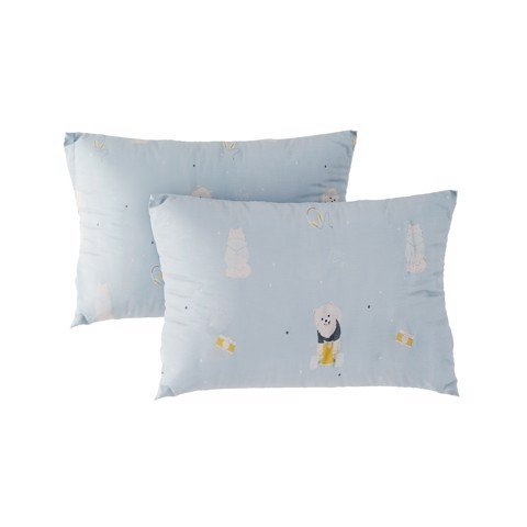 Pillow case 297 Tencel Pom Pom