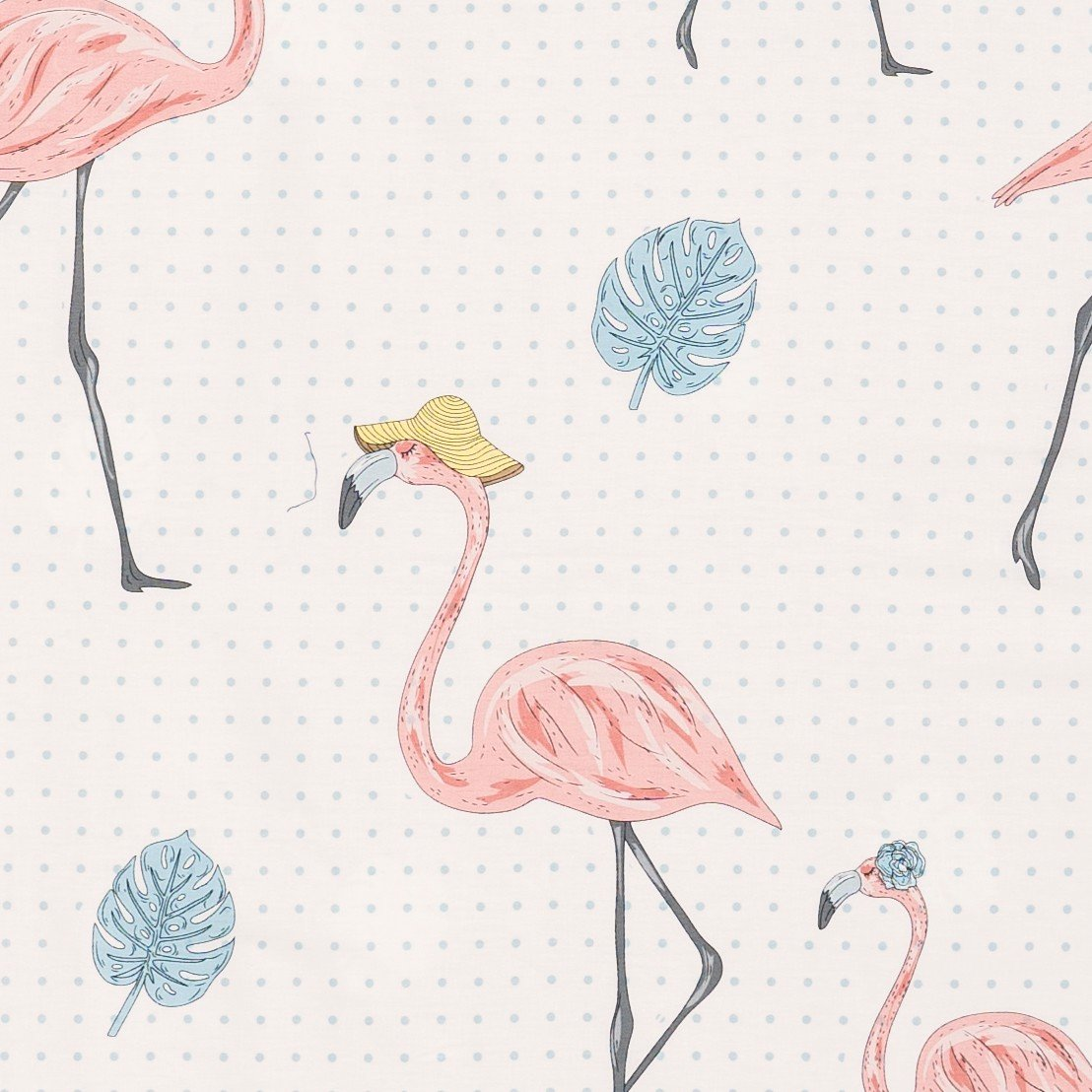 Pillow case 166 Pink flamingo