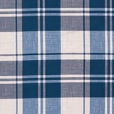 Pillow case 182 Navy grey grid