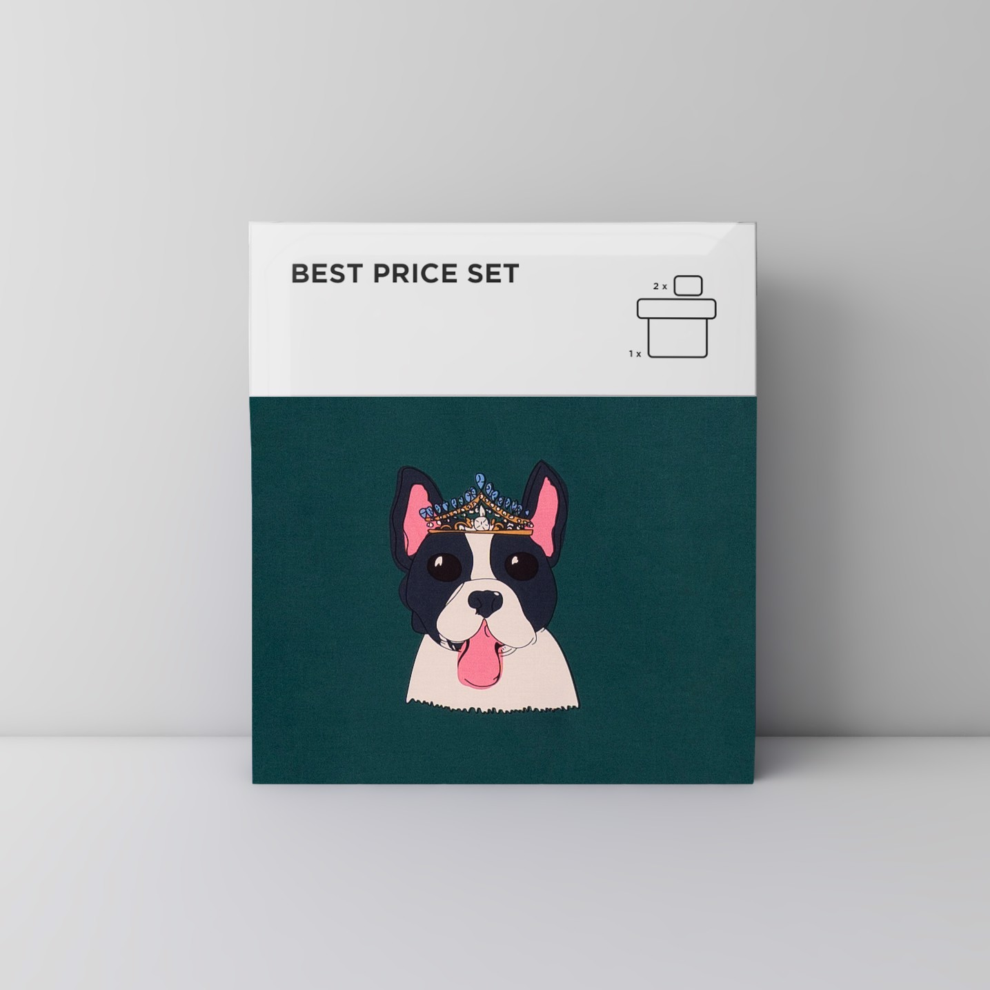 Best price 138 King & Queen of dog