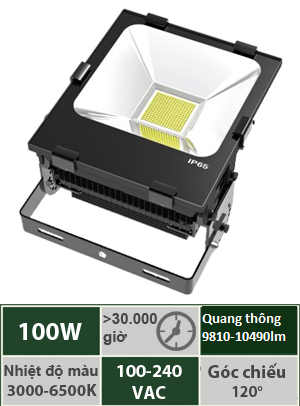 Đèn Led Pha 100W Vinaled FL-BB100