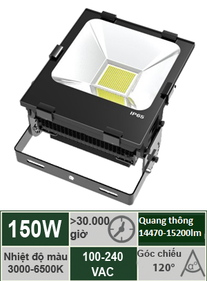 Đèn Led Pha 150W Vinaled FL-BB150
