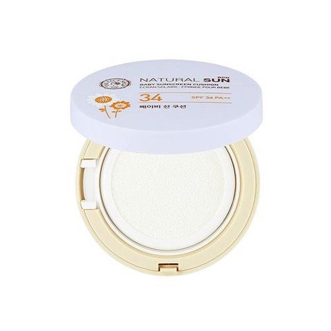 NATURAL SUN ECO BABY SUNSCREEN CUSHION SPF34 PA++