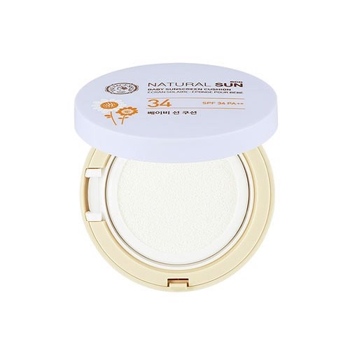 Kem Chống Nắng Dạng Cushion NATURAL SUN ECO BABY SUNSCREEN CUSHION SPF34 PA++