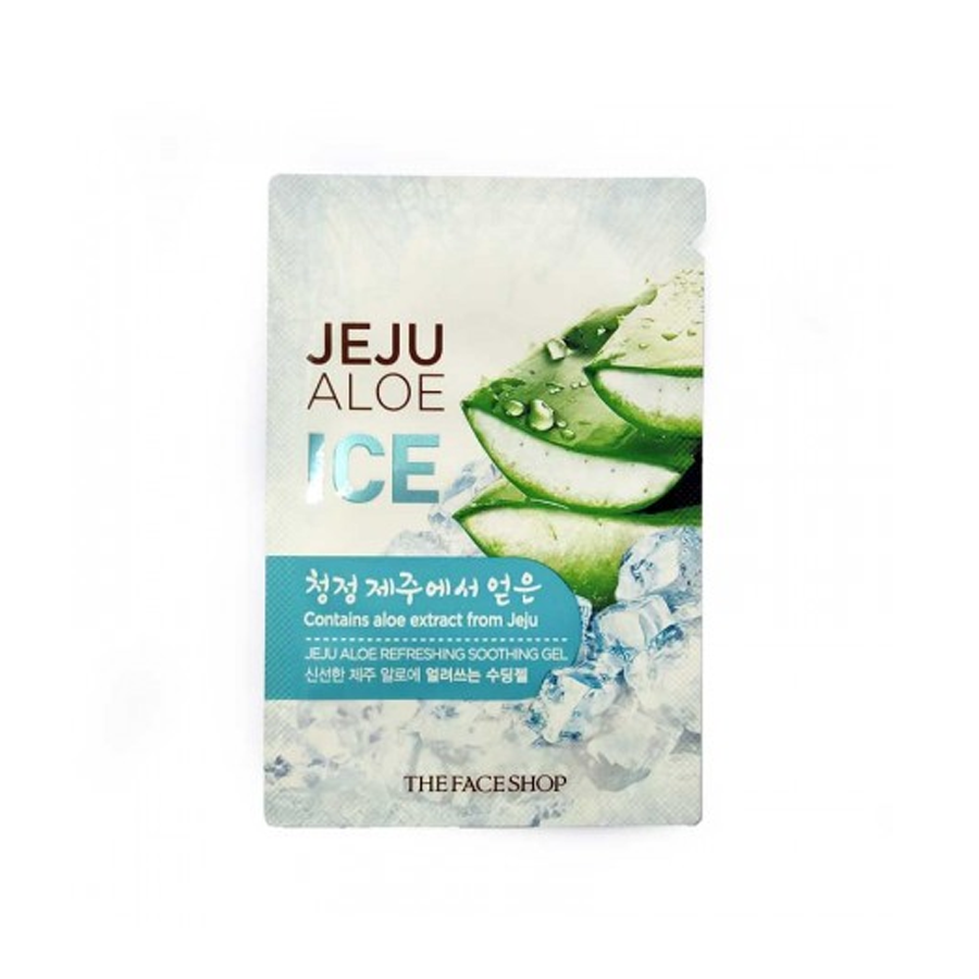 [SAMPLE] Gel Dưỡng Đa Năng JEJU ALOE REFRESHING SOOTHING GEL (7ml)