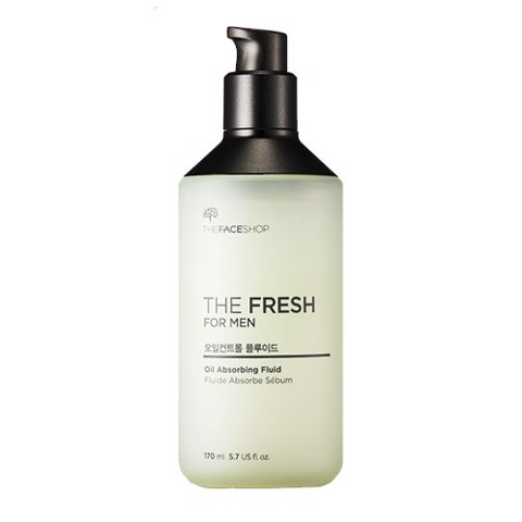 Sữa Dưỡng Kiểm Soát Nhờn THE FRESH FOR MEN OIL ABSORBING FLUID