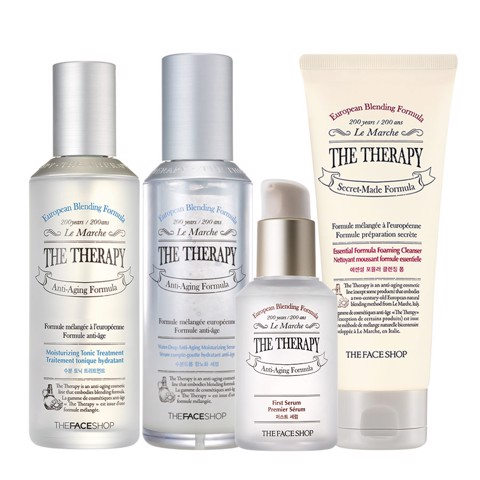 Bộ chăm sóc da THERAPY ( TONER, SERUM, FOAMING CLEANSER, THE THERAPY FIRST SERUM )