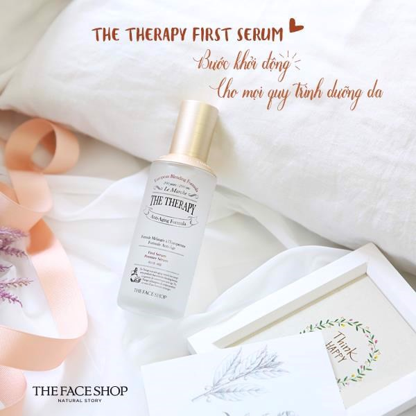 Bộ Dưỡng Phục Hồi Da THE THERAPY FIRST SERUM SPECIAL SET ( 3items)