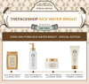 [SPECIAL EDITION] Kem Tẩy Trang Làm Sáng Da THEFACESHOP RICE WATER BRIGHT CLEANSING CREAM 400ml