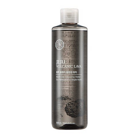 Nước Tẩy Trang JEJU VOLCANIC LAVA BLACK CLAY CLEANSING WATER 320ML