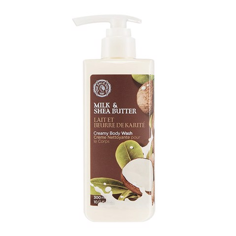 Sữa Tắm MILK & SHEA BUTTER CREAMY BODY WASH