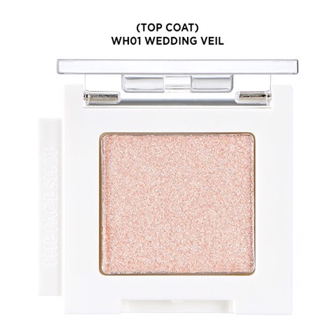 Màu Mắt MONO CUBE EYESHADOW (TOP COAT) WH01 WEDDING VEIL 1.9G