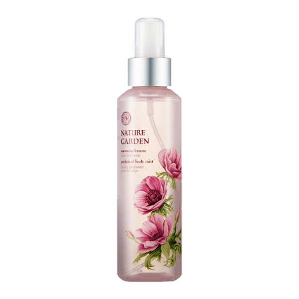 Xịt Dưỡng Thể NATURE GARDEN ANEMONE BREEZE PERFUMED BODY MIST