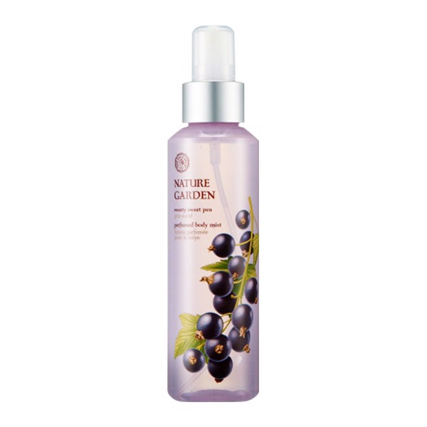 Xịt Dưỡng Thể NATURE GARDEN SWEETY SWEET PEA PERFUMED BODY MIST
