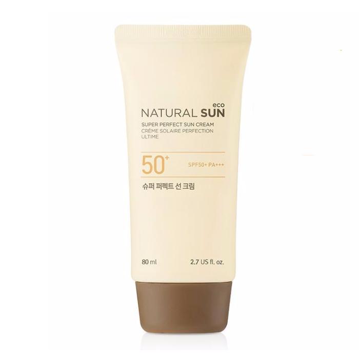Kem Chống Nắng NATURAL SUN ECO SUPER PERFECT SUN CREAM 50+PA+++ 80ml