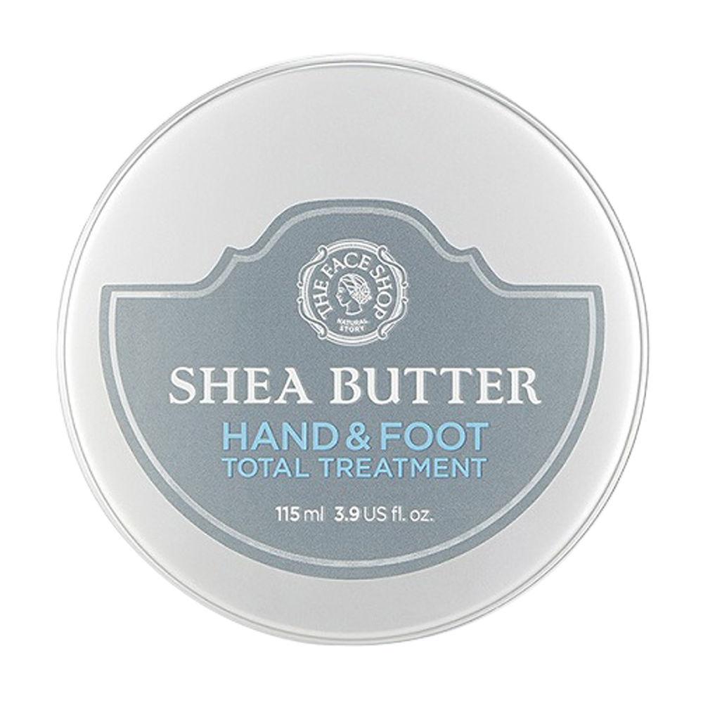 Bơ Dưỡng Ẩm Tăng Cường Cho Da Tay Và Chân SHEA BUTTER HAND & FOOT TOTAL TREATMENT – Mỹ phẩm thiên nhiên