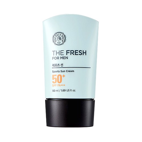 Kem Chống Nắng Cho Nam THE FRESH FOR MEN SPORTS SUN CREAM SPF50 PA+++