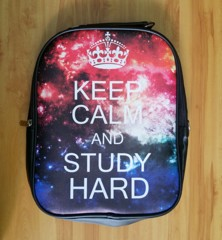 Ba lô in hình KEEP CALM & STUDY HARD - BLGA6
