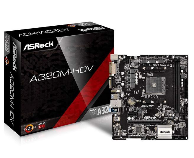 Asrock A320M-HDV (socket AM4)