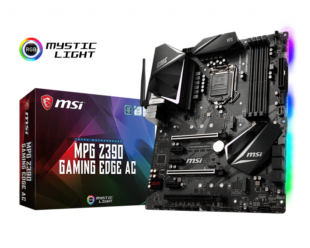 Mainboard MSI MPG Z390 GAMING EDGE AC LGA1151V2