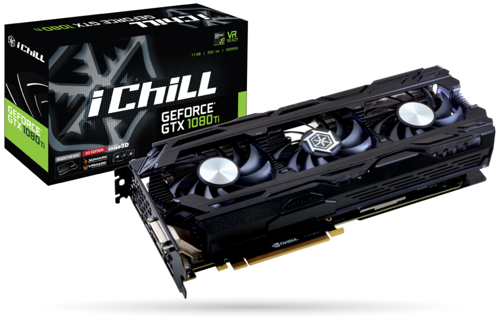 Inno3d GeForce GTX1080Ti iChill X3 AIR BOSS  11G GDDR5