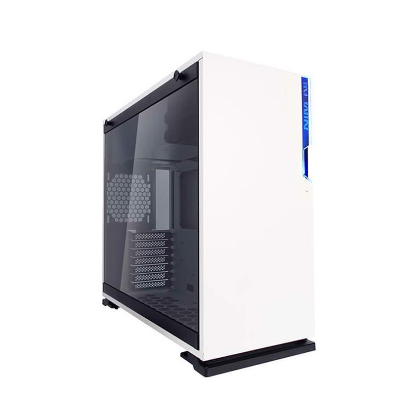 Case InWin 101 White - Full Side Tempered Glass ( Mid Tower )
