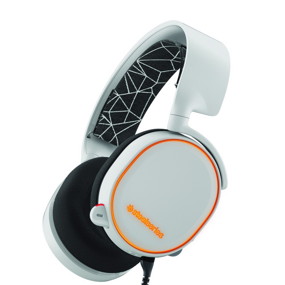 Tai nghe chơi game Steelseries Arctic5 White Edition