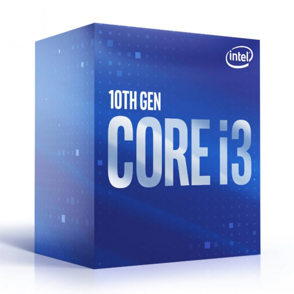 CPU Intel Core i3-10100 / 3.6GHz up to 4.3GHz / 4 Core 8 Thread / 6MB / Socket 1200 / Comet Lake