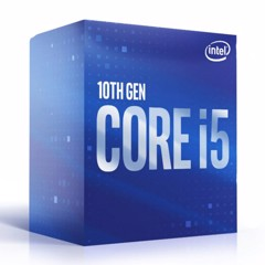 CPU Intel Core i5-10400F 2.9GHz up to 4.3GHz / 6 Core 12 Thread / 12MB / Socket 1200 / Comet Lake