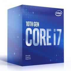 CPU Intel Core i7-10700F 2.9GHz up to 4.8GHz / 8 Core 16 Thread / 16MB / Socket 1200 / Comet Lake