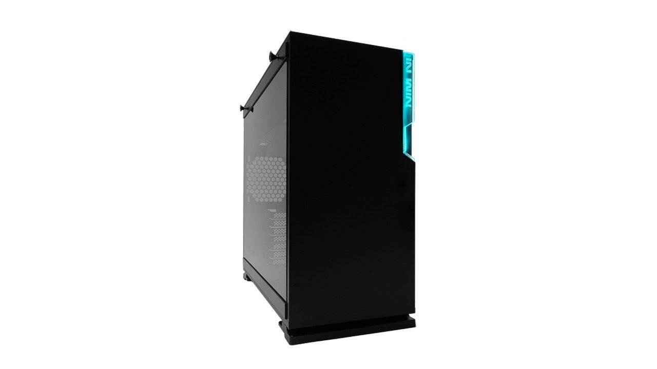 Case InWin 101C Black RGB - Full Side Tempered Glass ( Mid Tower )
