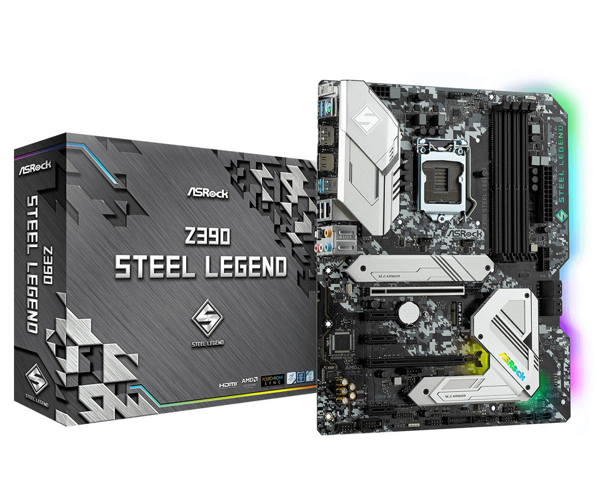 Mainboard ASROCK Z390 Steel Legend LGA1151V2