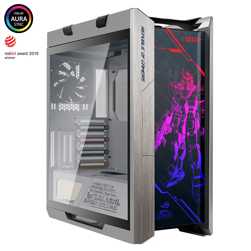Case ASUS ROG Strix Helios White GUNDAM Edition