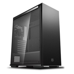 Case Deepcool MACUBE 310P GAMER STORM Case – Black