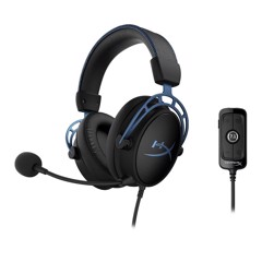 Tai nghe Kingston HyperX Cloud Alpha S - Blue