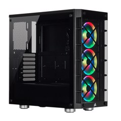 Case CORSAIR iCUE 465X RGB Tempered Glass (Black)