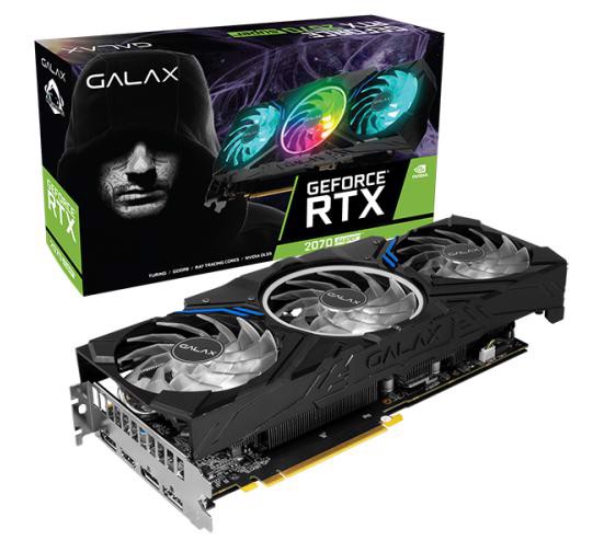 Card Màn Hình GALAX GeForce® RTX 2070 Super Work The Frames Edition