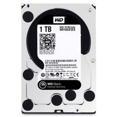 Ổ Cứng WD HDD 1TB Black 7200rpm