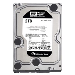 Ổ Cứng WD HDD 2TB Black 7200rpm