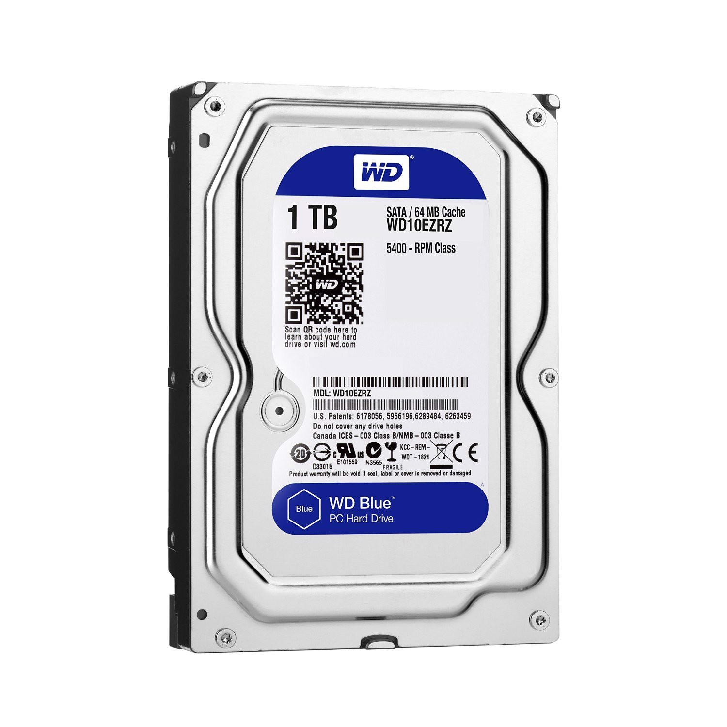 Ổ Cứng WD HDD 1TB Blue 7200rpm