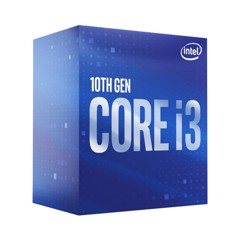 CPU Intel Core i3-10100F / 3.6GHz turbo up to 4.3Ghz / 4 Core 8 Thread / 6MB / Comet Lake