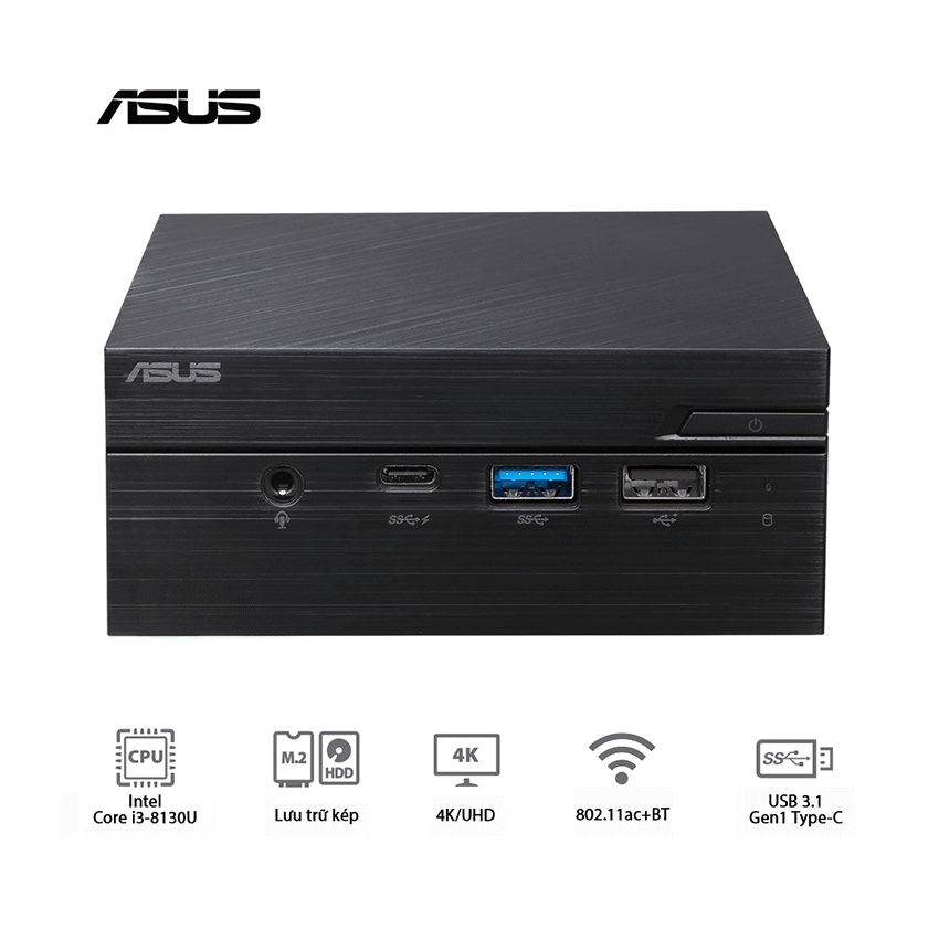 Mini PC Asus PN60 – BB3117MD ( DP 1.2 Port )