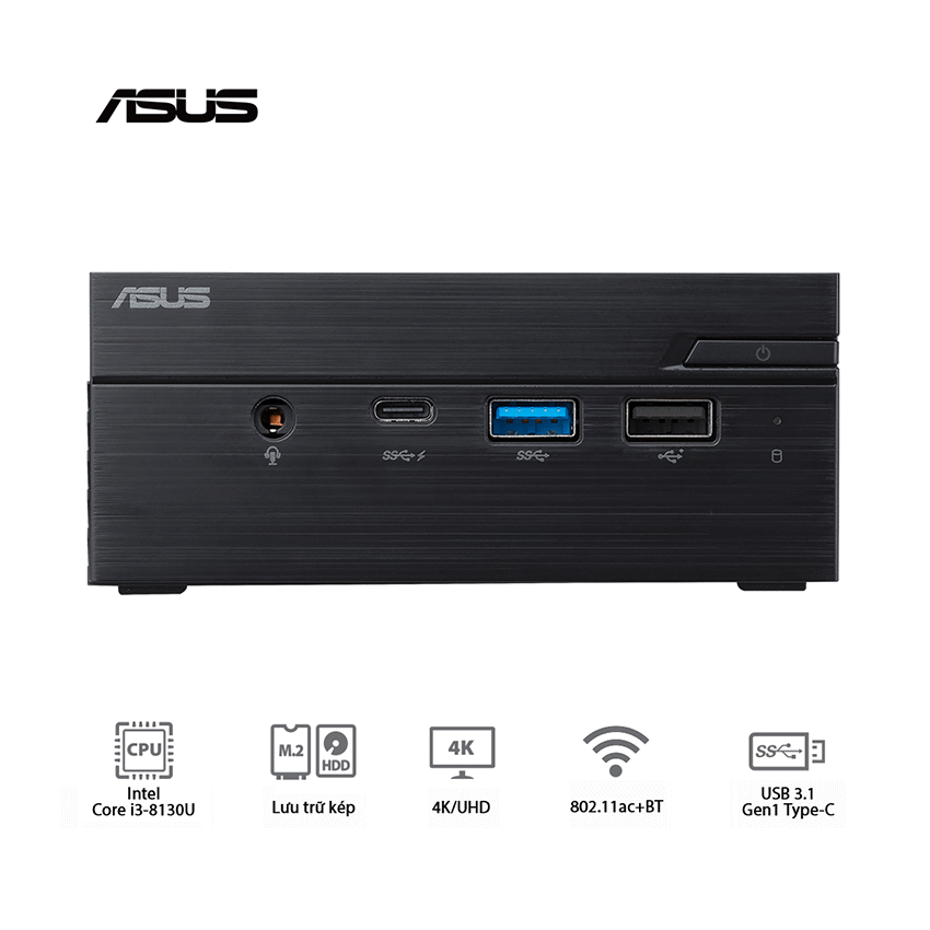 Mini PC Asus PN60 – BB3116ML ( LAN RJ-45 )