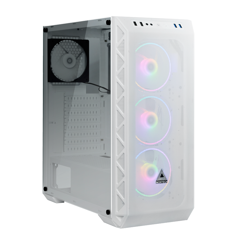 Case Montech Air 900 Mesh White