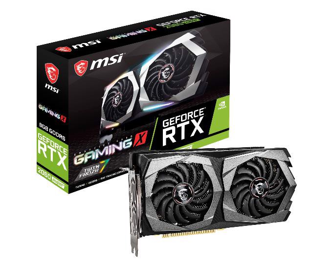 Card Màn Hình MSI RTX 2060 SUPER GAMING X 8GB