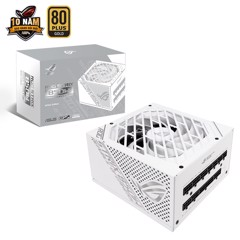 Nguồn Asus ROG Strix 850W White Edition - 80 Plus Gold