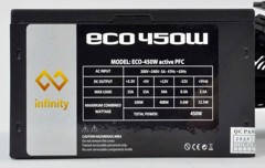 Nguồn Infinity ECO 450W 80Plus Single Rail – True Power